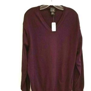 NWT Joseph Banks v-neck cotton sweater